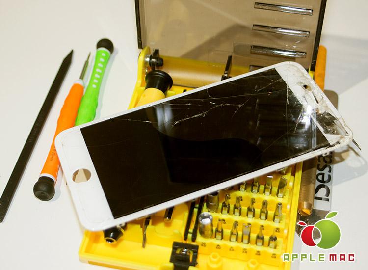 4000円から iPhone 6 Plus ガラス修理してくれる鬼安修理店