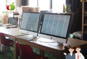 iMacグラフィックボード液晶ガラス画面修理