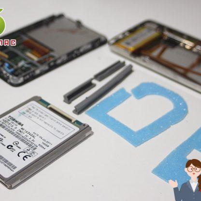 iPod Classic 故障修理 2500円 HDD80GB/120GB販売