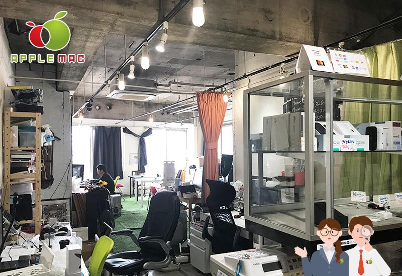 APPLEMAC神戸店の受付スペース店内撮影4