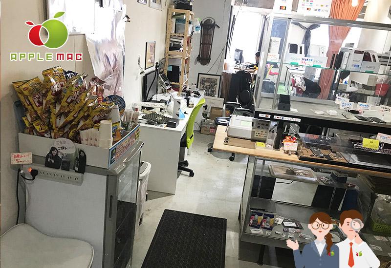 APPLEMAC神戸店の受付スペース店内撮影3