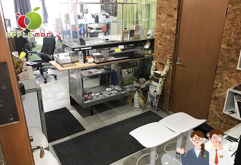 APPLEMAC神戸店の受付スペース店内撮影2