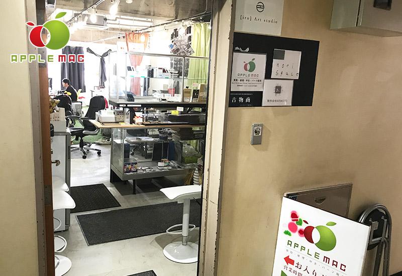 APPLEMAC神戸店の受付スペース店内撮影1