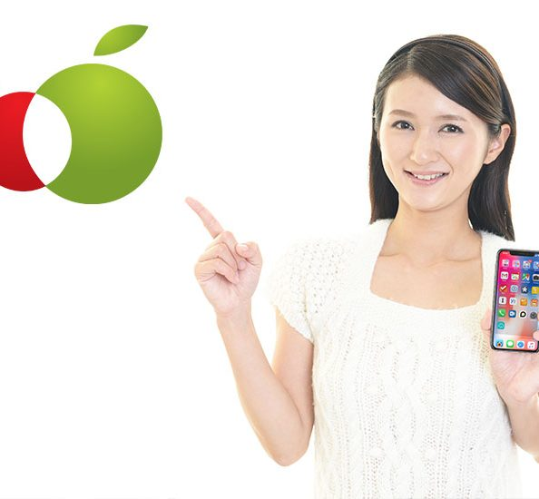 神戸元町iPhone液晶ガラス画面4000円修理