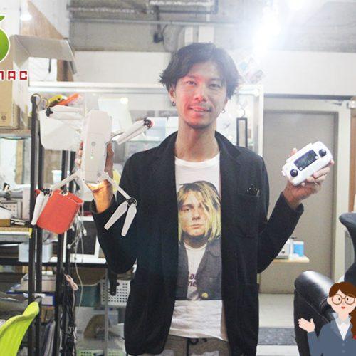 神戸ドローン DJI Mavic Pro ジンバル故障修理20,000円