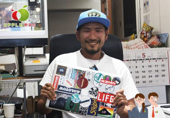 神戸アート芸術家デザインプロMacbookPro液晶修理