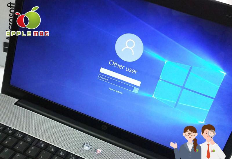 Windows 10ロック画面パスワードロック解除開始