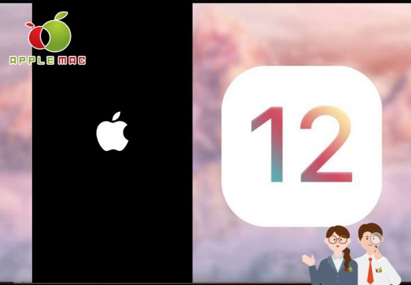 iOS12 iPhone/iPad リンゴマークフリーズ起動しない修理