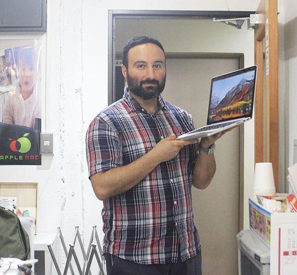 神戸元町 Macbook 2013 SSD起動しない画面 故障修理店
