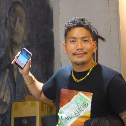 兵庫神戸HIPHOPラッパー歌手iPhone修理割引のお店