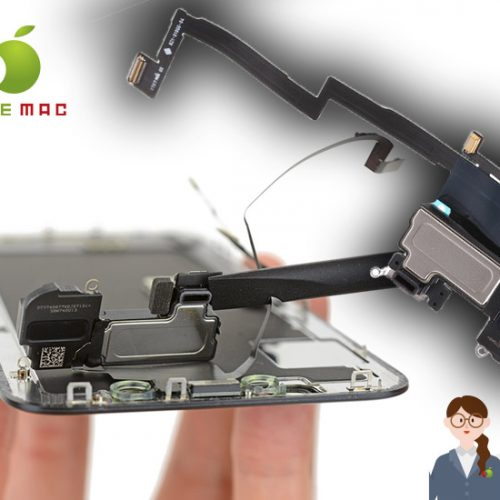 iPhone X イヤースピーカーケーブル修理と卸しパーツ販売