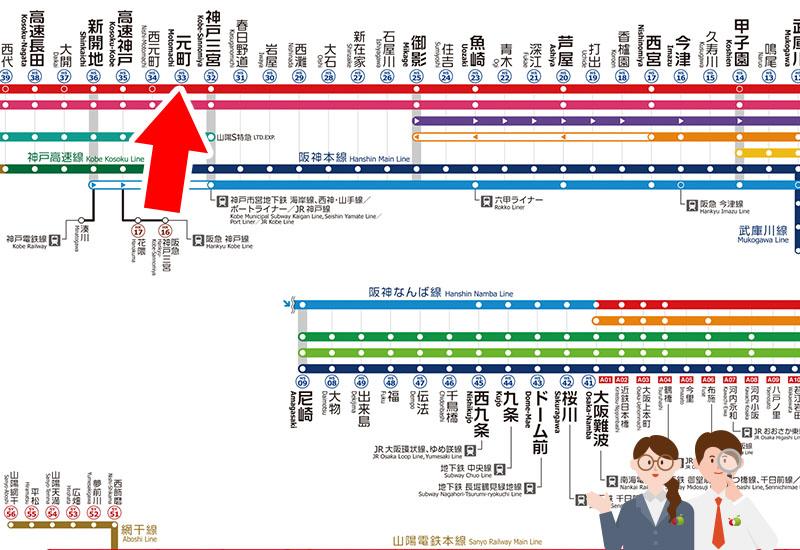 【阪神電車】大阪梅田・舞子公園からもAPPLEMAC神戸店