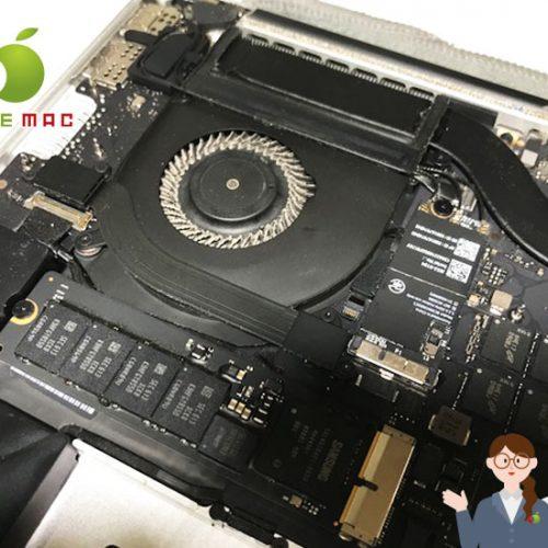 MacBook 2015 15インチトラックパッド・バッテリー修理店