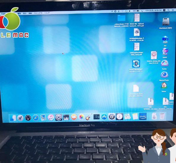 神戸元町 MacBook 2011 起動しないグラフィックカード修理