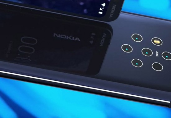 【画像リーク】5眼カメラスマホ「Nokia 9 Pure View」画面内指紋センサ