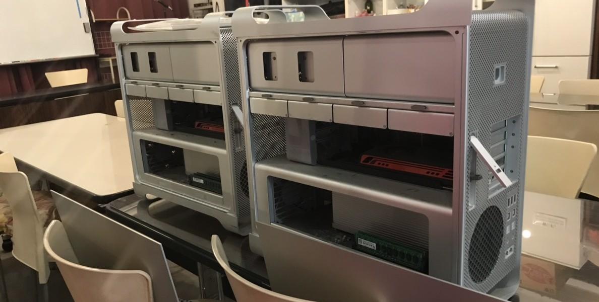Mac Pro 2010/2011 A1289 Sierraインストール SSD高速化修理