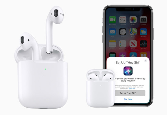 AirPods 2 無線充電H1チップ発売決定!初代AirPods値下げ