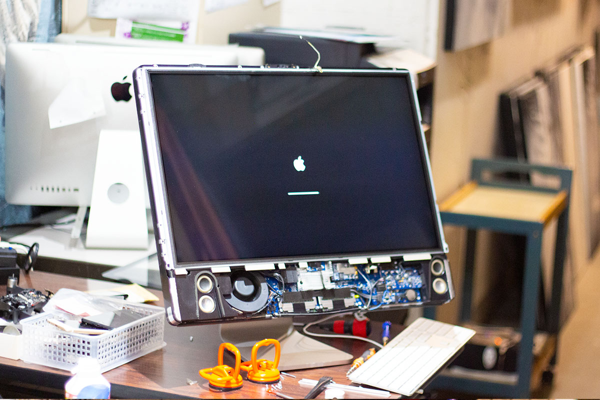 iMac 2008 macOS Catalina HDD3TB改造カスタマイズお店4