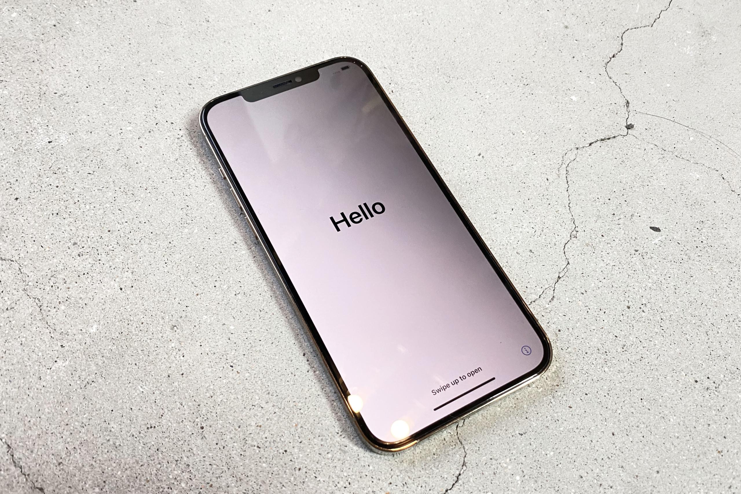 iPhone 12 Pro Max 液晶画面背面パネル割れ修理神戸お店1