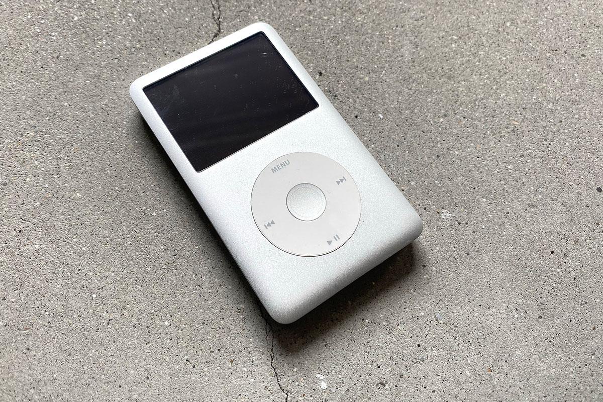 Apple iPod classic 第5世代バッテリー交換